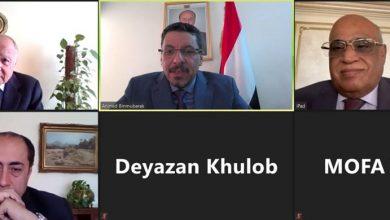 Photo of وزير خارجية اليمن يبحث تطورات أزمة بلاده مع الأمين العام للجامعة العربية